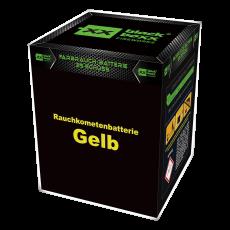 Blackboxx Fireworks Tagesbatterie Rauchkometenbatterie gelb