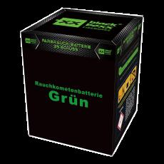 Blackboxx Fireworks Tagesbatterie Rauchkometenbatterie grün