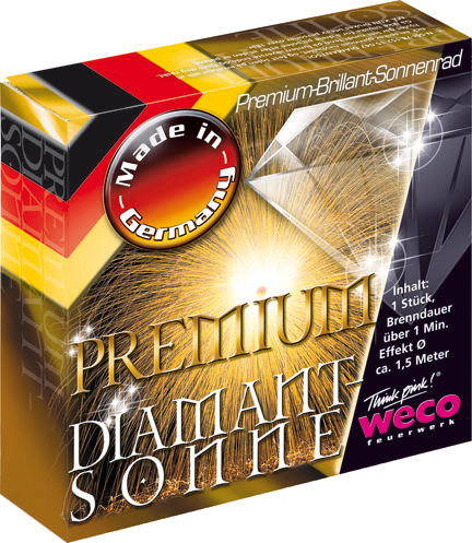 WECO Sonne Premium Diamantsonne