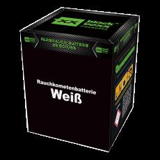 Blackboxx Fireworks Tagesbatterie Rauchkometenbatterie weiß