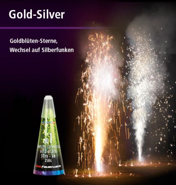 Zink Vulkan gold silber No. 1