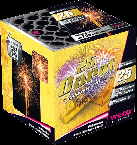 WECO Batterie 25 Carat