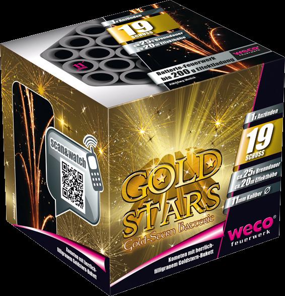 WECO Batterie Gold Stars