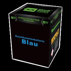 Blackboxx Fireworks Tagesbatterie Rauchkometenbatterie blau