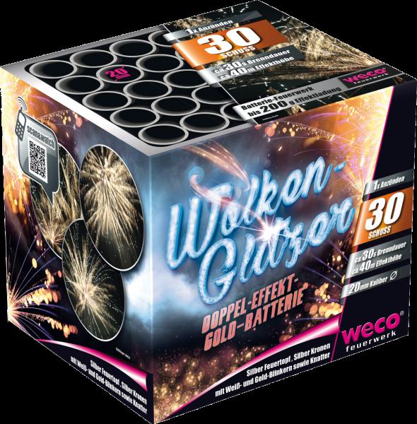 WECO Batterie Wolkenglitzer