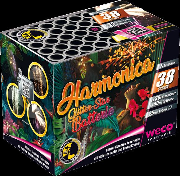 WECO Batterie Harmonica