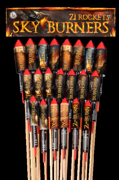 Lesli Raketen Sky Burners