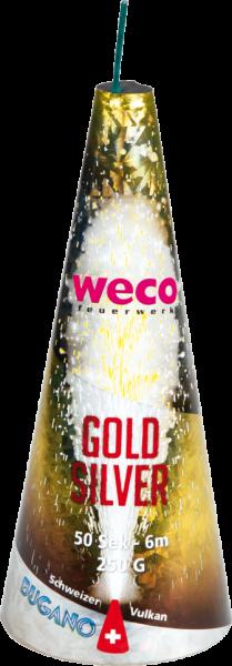 WECO Vulkan gold & silber