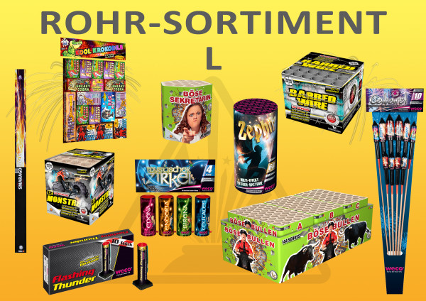 Rohr-Sortiment L