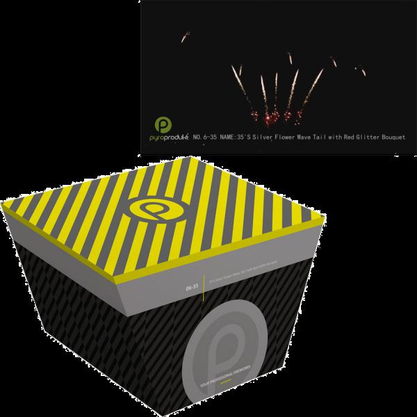 Pyro Produkt Batterie PP6-35