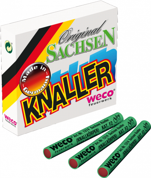 WECO Böller Sachsen Knaller