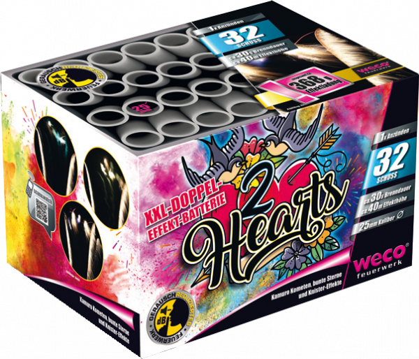 WECO Batterie 2 Hearts