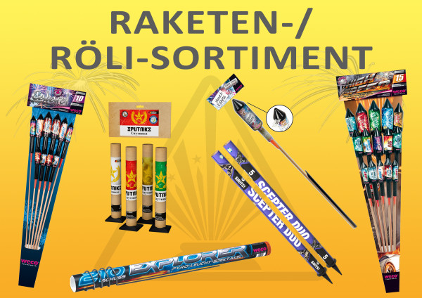 Raketen- / Röli-Sortiment