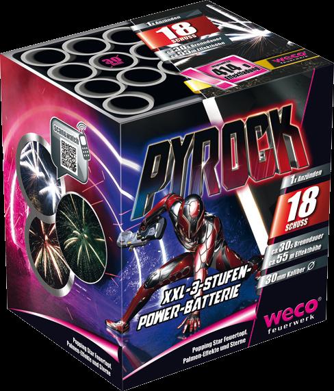 Weco Batterie Pyrock