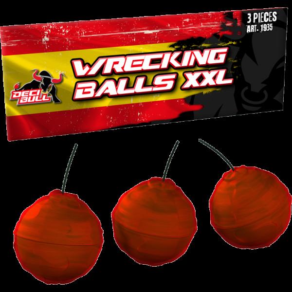 3 Crackling Balls XXL