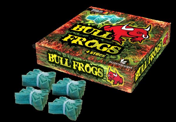 Lesli Böller Bull Frogs Box Frösche