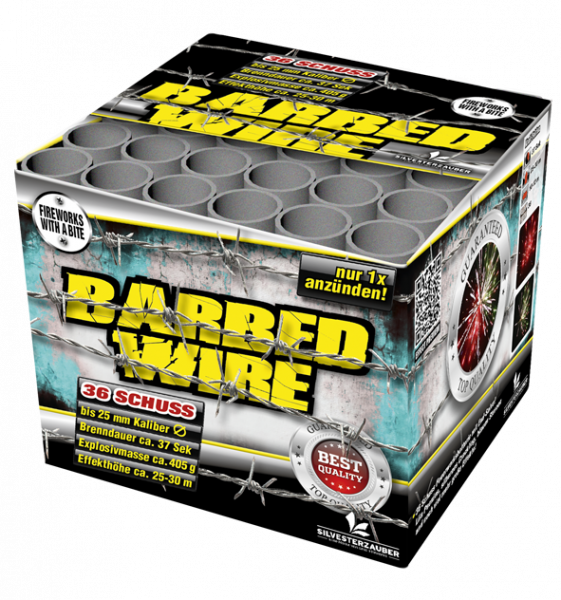 Lesli Batterie Barbed Wire